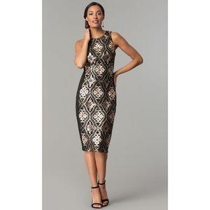 JAX Black Label Sequin NYE Holiday Dress